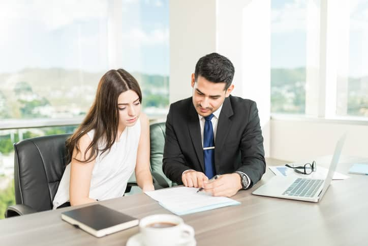 Adviser Providing Best Service To Win Client's Trust