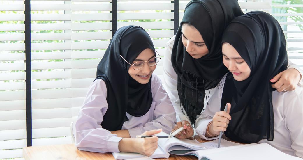 3 girls written into islamic will